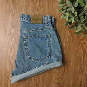 Vintage CK Mom Shorts